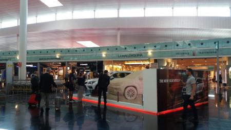 Así promociona SEAT su nuevo Ateca en el Aeropuerto de Barcelona-El Prat