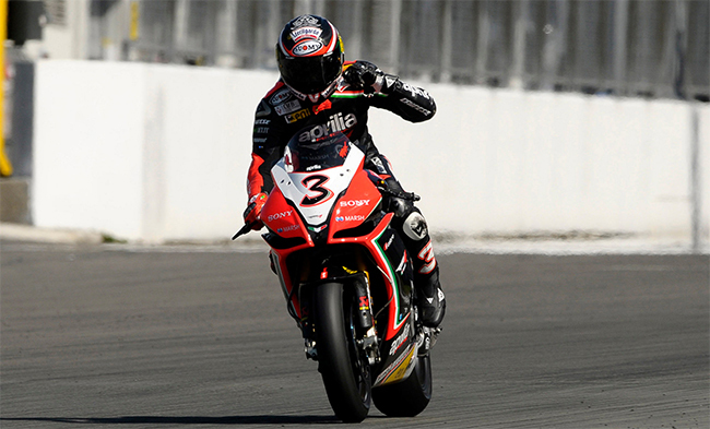 Max Biaggi World SBK Champion