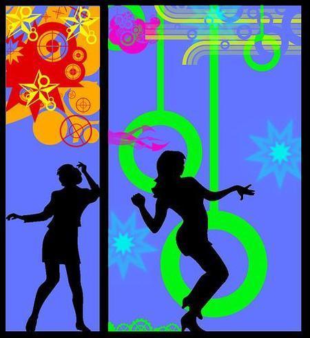 Ejercicio aeróbico: baila durante una hora en casa