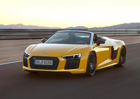 Audi R8 V10 Spyder, la mejor manera de disfrutar de un motor atmosférico es sin techo