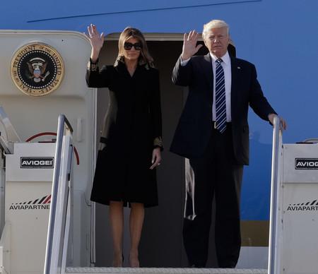 Los gestos entre Trump y Melania que no nos gustan en un pareja, sea quién sea