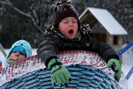 Llegan las temperaturas invernales: protege a los niños del frío