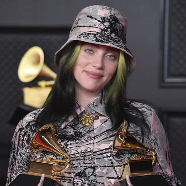 Confirmado: Billie Eilish confiesa que lució una peluca en los Grammy para esconder su recién estrenado pelo rubio