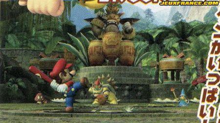 Lista de personajes del 'Mario Super Sluggers'