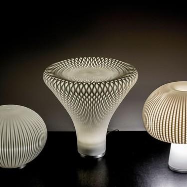 Vista Alegre lanza una moderna línea de lámparas esculturas que son lo más