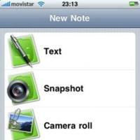 Evernote, actualizada en el iPhone.