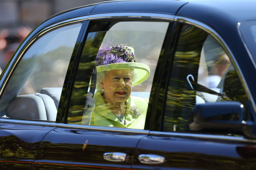 Boda del Príncipe Harry y Meghan Markle: la Reina Isabel II no le teme a nada y se lanza con el flúor