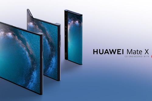 Mate X: el primer smartphone plegable de Huawei ya está aquí y luce impresionante