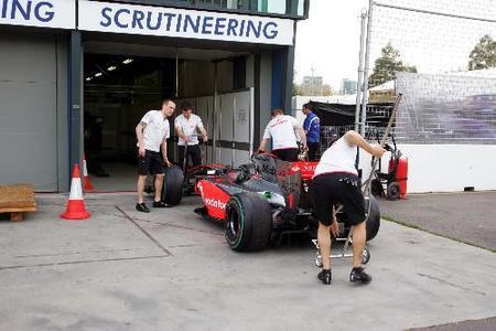 Qué se inspecciona en un Fórmula 1 durante un Gran Premio