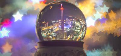 'Around the Globe', una forma curiosa de felicitar la Navidad