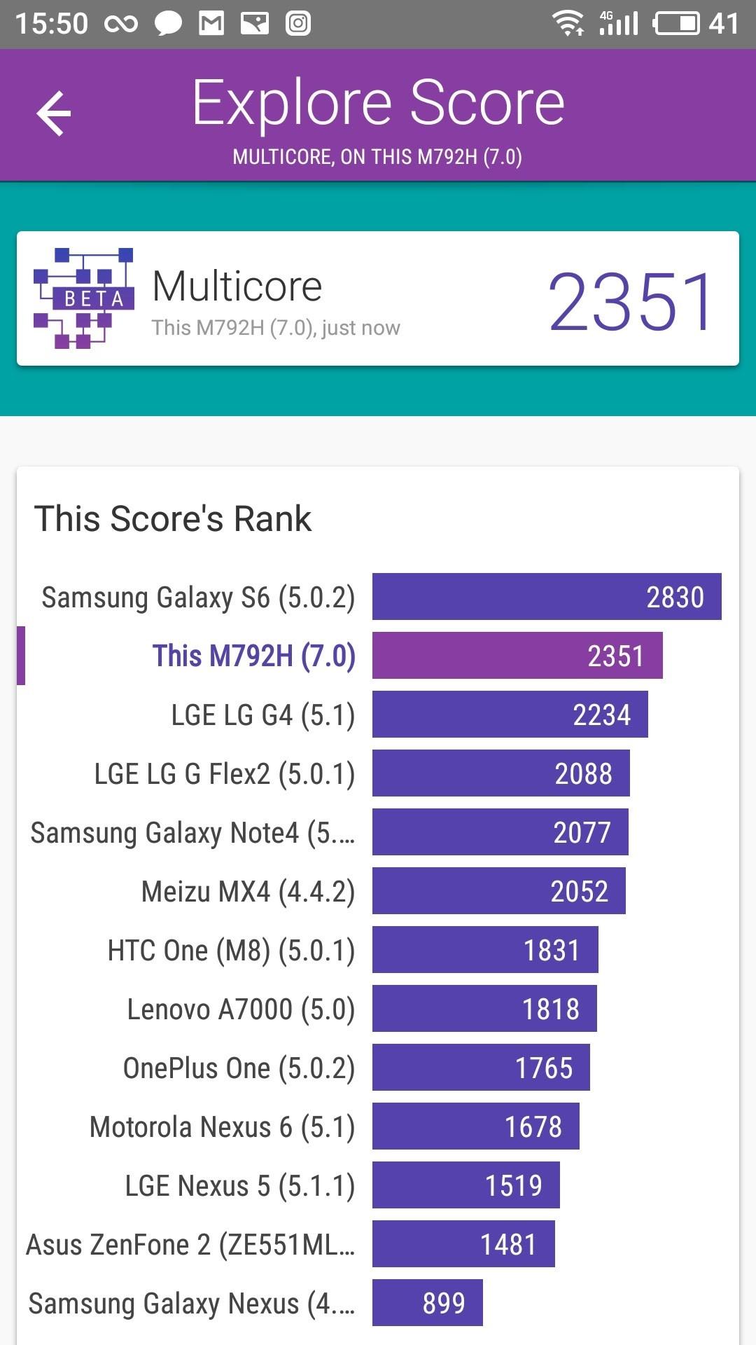 Foto de Meizu Pro 7 benchmarks (9/10)