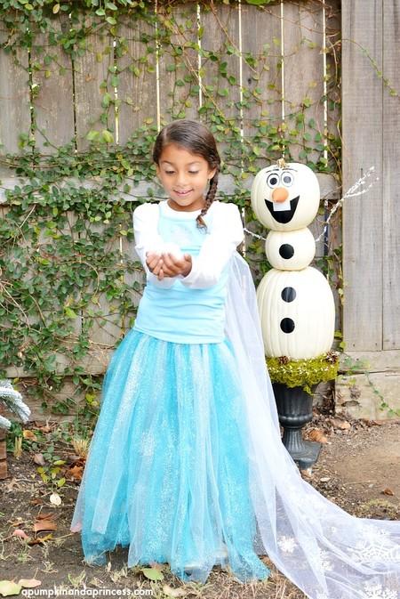 Disfraces Faciles Rapidos Ninos Carnaval Elsa