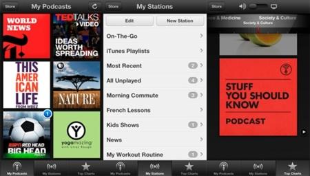 Actualización de Podcasts para iOS, llega la integración con iCloud