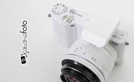 Samsung NX1000 - Vista cenital