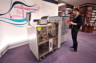 Barnes & Noble se apunta a la Espresso Book Machine ¿Lo veremos alguna vez en España?