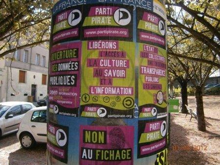 El Partido Pirata francés presenta 101 candidatos a las elecciones legislativas