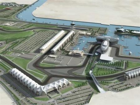El circuito de Yas Marina estará acabado esta semana