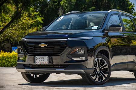Chevrolet Captiva 2022 Primer Acercamiento Mexico Prueba Opiniones 29