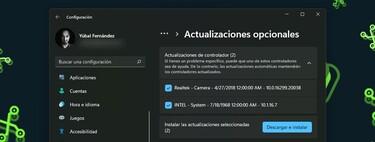 Cómo actualizar los drivers en Windows 11 directamente desde Windows Update