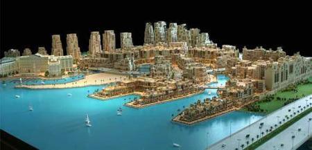 Palazzo Versace Dubai y su playa de arena refrigerada