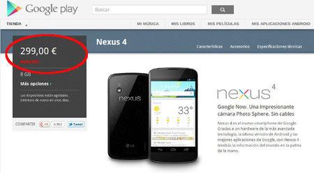 Google y el Nexus 4, ejemplo de lo que no se debe hacer en el comercio electrónico