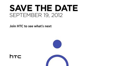 HTC convoca un evento para el 19 de septiembre: ¿turno de Windows Phone?