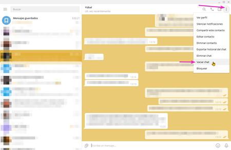 Empty Chat Telegram