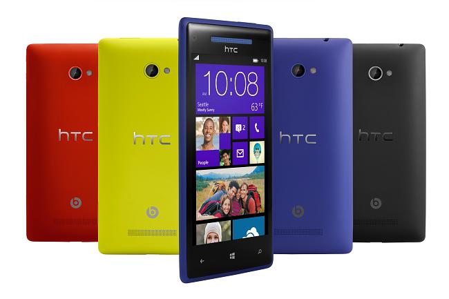 HTC 8X - colores
