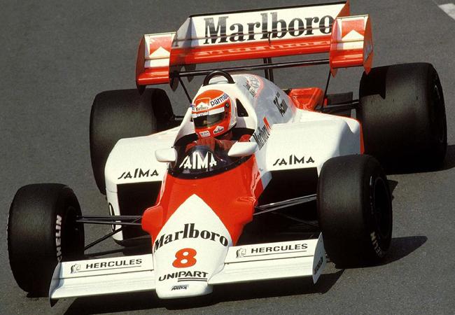 Niki Lauda 1984 Portugal