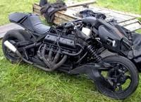 Ghost Rider a la rusa