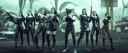 Monjas enfundadas en trajes de cuero y armadas hasta los dientes en el nuevo tráiler de 'Hitman: Absolution'