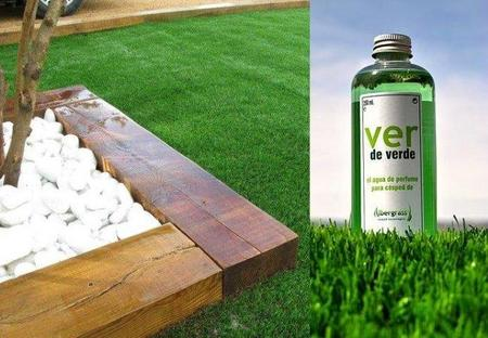 Ver de verde, perfume para césped artificial