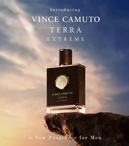 TERRA EXTREME, la nueva fragancia de Vince Camuto es una enigmática oda a la aventura
