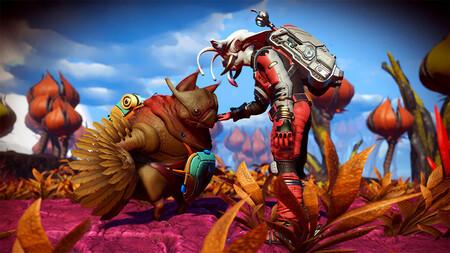 Se acabó lo de estar solos en No Man's Sky: su nueva actualización Companions nos permite adoptar criaturas alienígenas