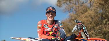 Hablamos con Jorge Prado, el gallego de 17 años que domina el mundial de MX2