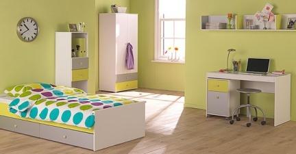 Dormitorios en varias zonas: Un dormitorio con zona de trabajo (I)