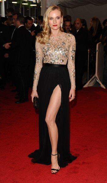 Diane Kruger con un look arrebatador en la gala MET 2011