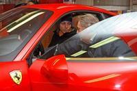 Valentino Rossi ha probado el Ferrari 458 Italia