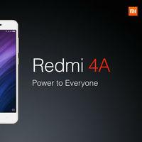 El Xiaomi más barato: Redmi 4A en versión global por 68,51 euros y envío gratis