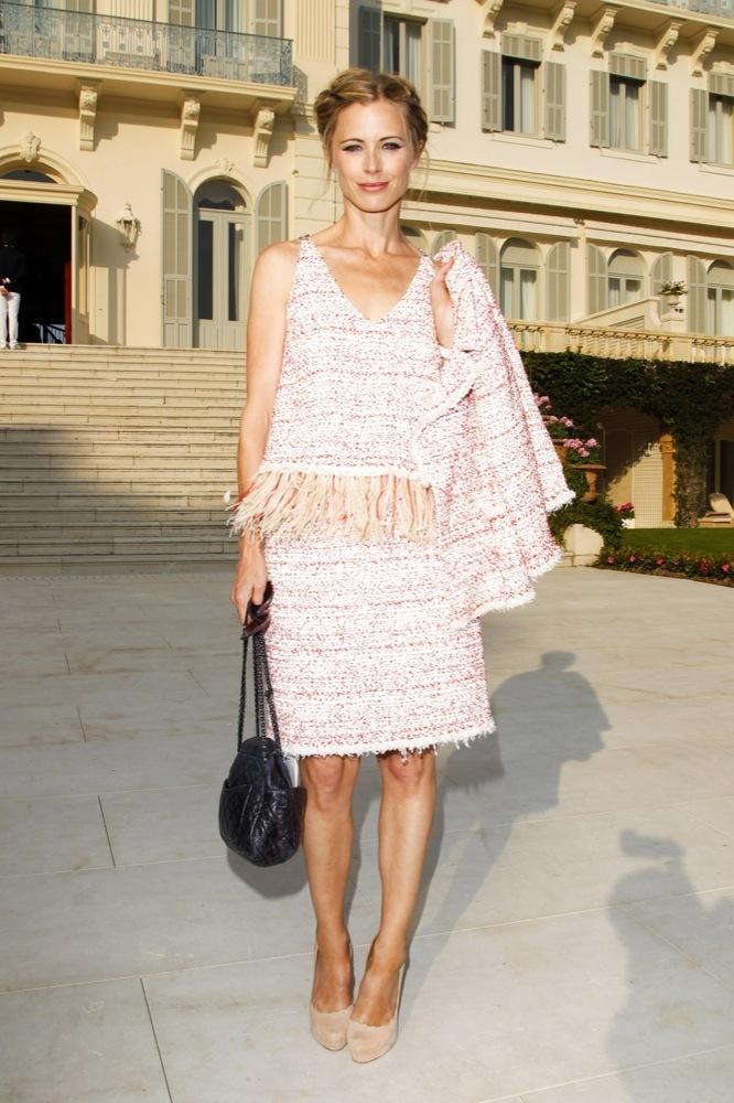 Foto de Las bellezas fieles de Chanel en el front row de la colección Crucero 2012 (14/23)