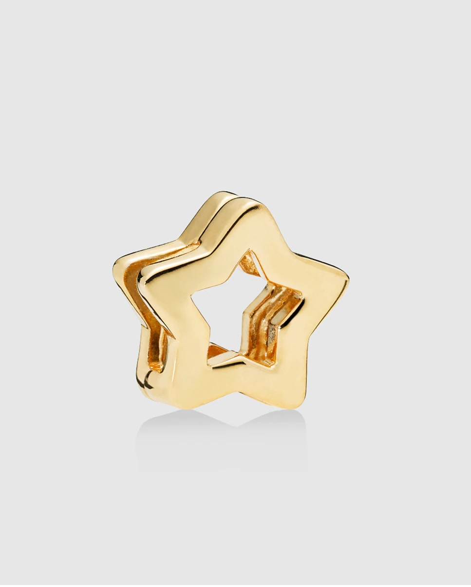 Charm de estrella dorada para la pulsera Reflexions de Pandora