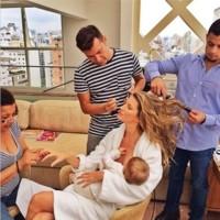 Las celebrities y sus hijos, protagonistas de la semana