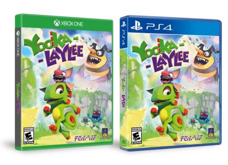 Yooka Laylee ya tiene fecha de salida en Xbox One, PS4, PC... y Switch