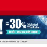 Samsung Fest! en MiElectro: hasta un 30% de descuento en electrodomésticos Samsung con envío e instalación gratis