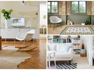 11 ideas para llenar de color tu casa con alfombras