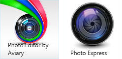 Photo Editor y Photo Express para Windows 8