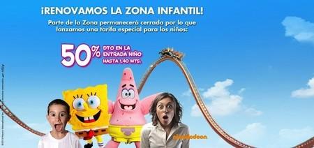Descuentos en las atracciones para niños del Parque de Atracciones de Madrid