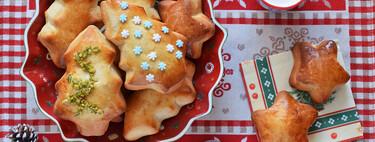 Receta de panecillos de leche navideños para los desayunos y meriendas de Adviento