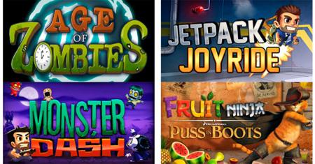 Jetpack Joyride, Fruit Ninja, Age of Zombies y más gratis sólo hoy ¡Aprovechad!