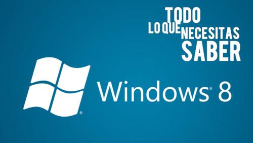 Windows8:todoloquenecesitassaber